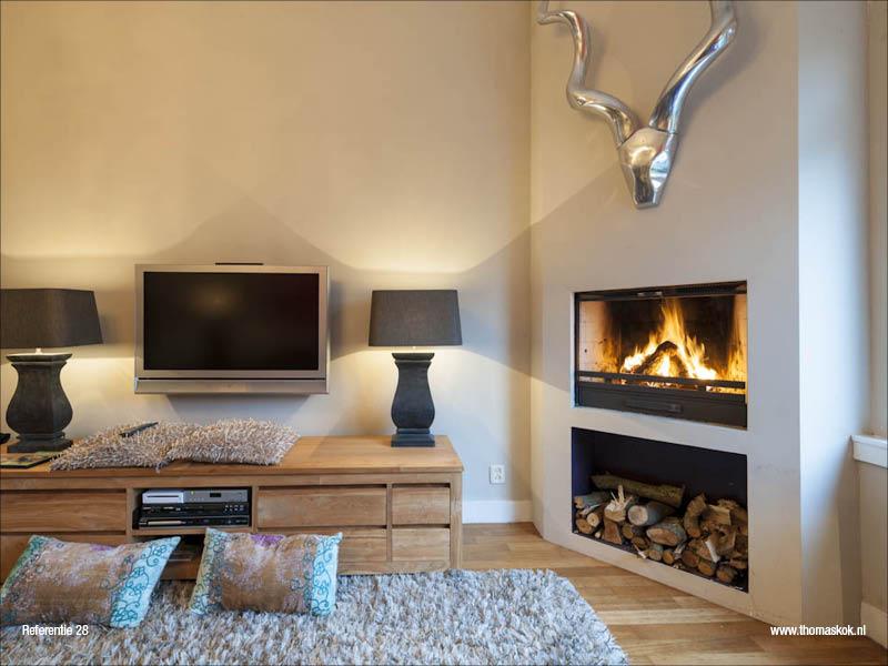 Uw eigen houtgestookte open haard sfeer warmte en veiligheid - Voorbeeld van decoratie ...